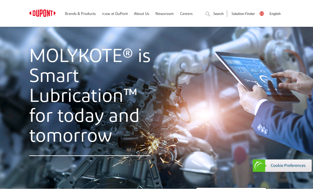 MOLYKOTE® is Smart LubricationT